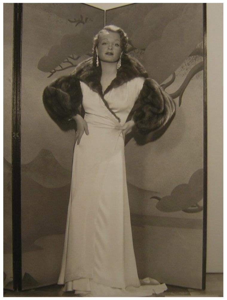 Sari MARITZA '30 (17 Mars 1910 - Juillet 1987)