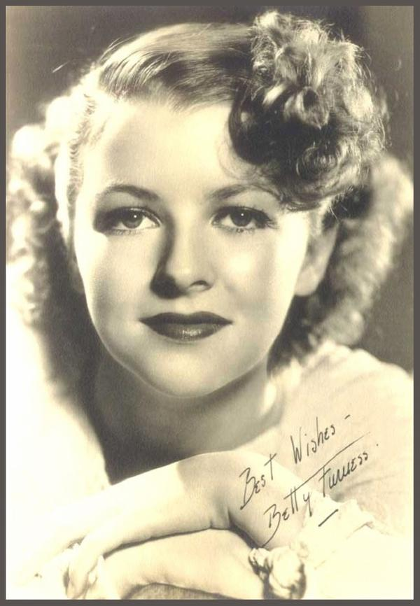 Betty FURNESS '30-40-50-60 (3 Janvier 1916 - 2 Avril 1994)
