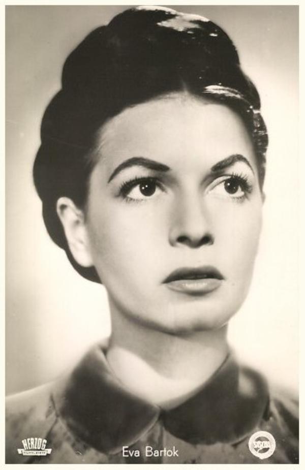 Eva BARTOK '50 (18 Juin 1927 - 1er Août 1998)