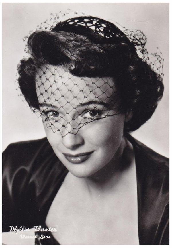 Phyllis THAXTER '40-50-60 (20 Novembre 1921)