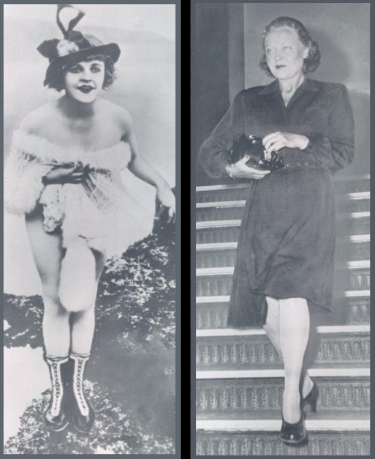Phyllis HAVER '20-30-40-60 (6 Janvier 1899 - 19 Novembre 1960) (1 photo de Phyllis aux côtés de Ruth TAYLOR et Lela ROGERS)