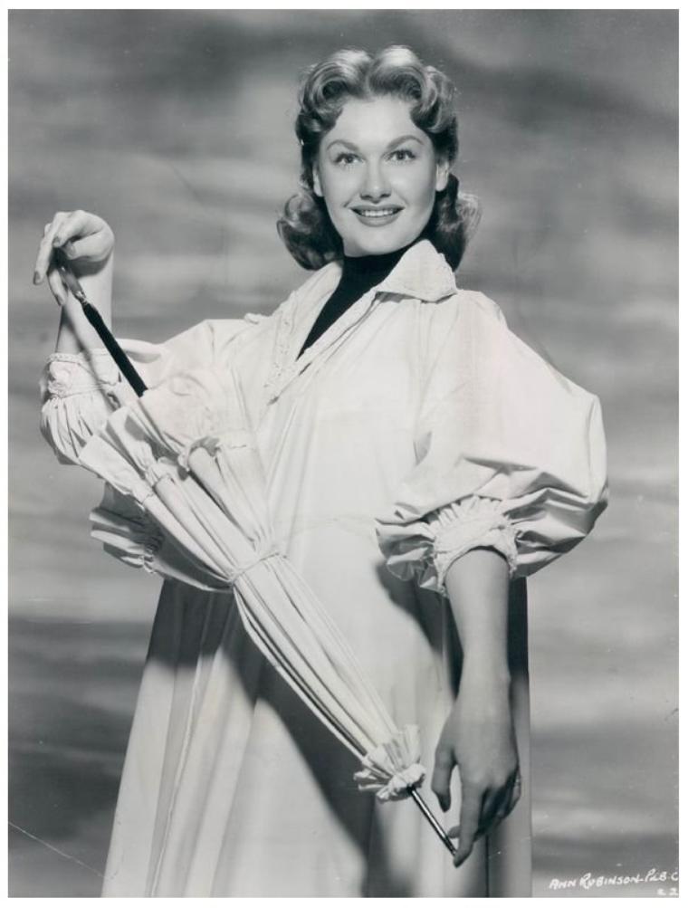 Ann ROBINSON '50-60 (1er Mai 1935)
