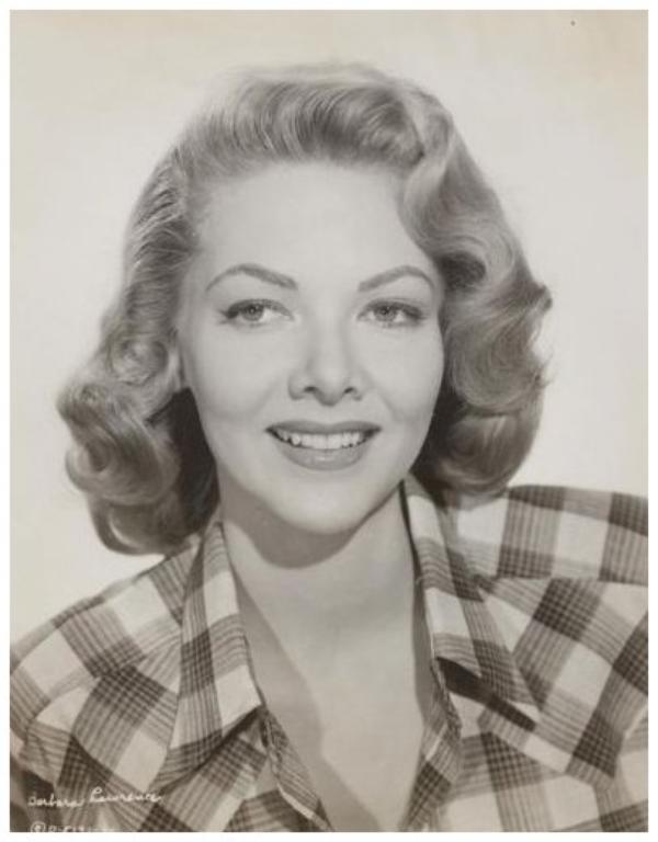 Barbara LAWRENCE '40-50 (24 Février 1928)
