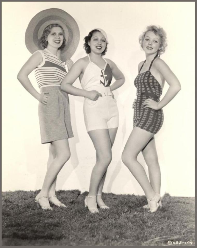 Dorothy DELL '30 (30 Janvier 1915 - 8 Juin 1934) (1 photo de Dorothy aux côtés de Frances DRAKE et Ida LUPINO)