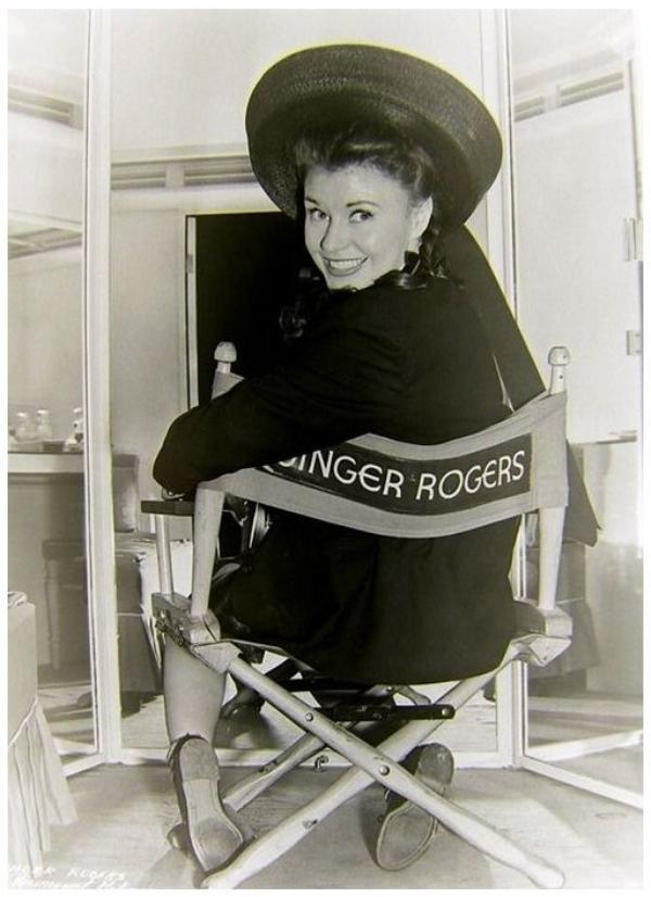 8 NOUVELLES photos de Ginger ROGERS '30-40-50