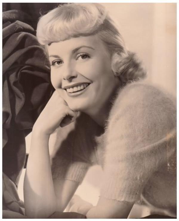Jean WALLACE '40-50 (12 Octobre 1923 - 16 Février 1990) (1 photo de Jean aux côtés de Jeanne CRAIN)