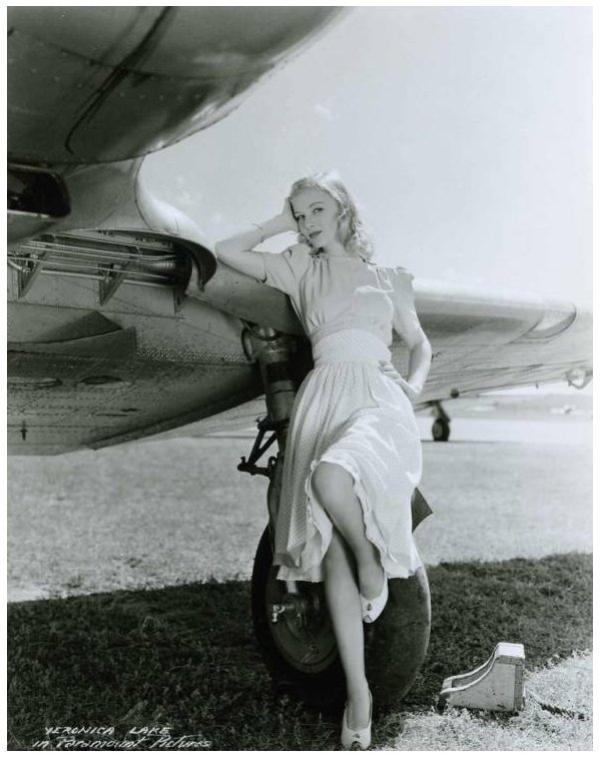 8 NOUVELLES photos de Veronica LAKE '40-50