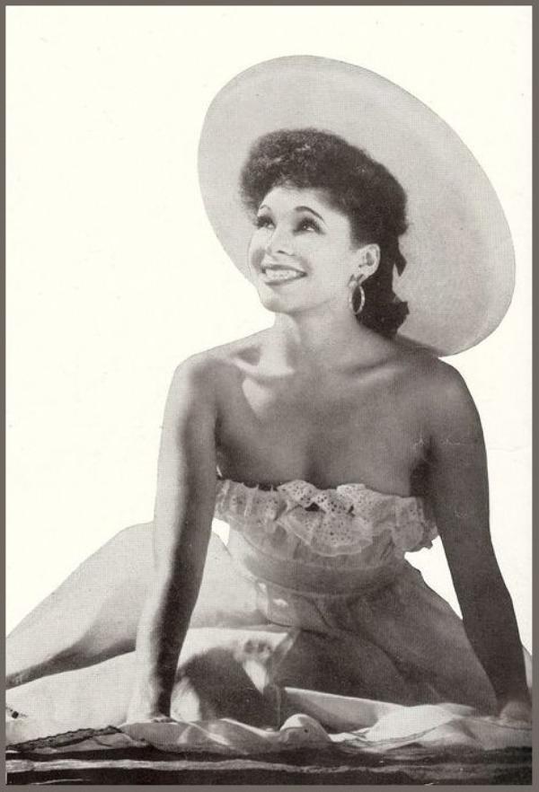 Katherine DUNHAM '40-50, dancer, actress (2 Juin 1909 - 21 Mai 2006)