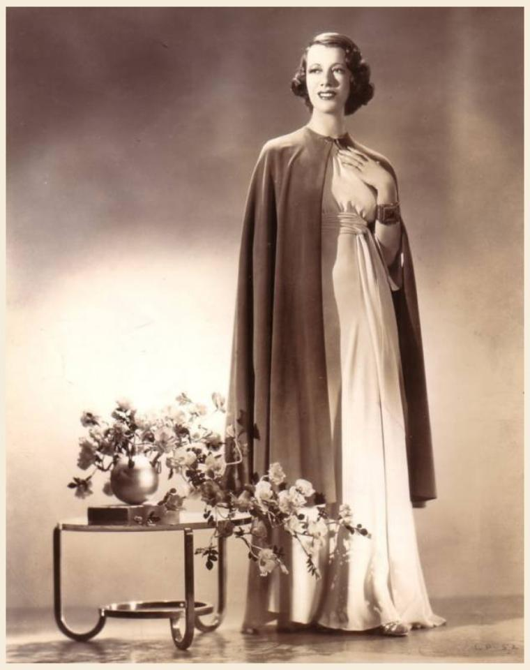 Lily PONS '30-40 soprano singer, actress (12 Avril 1898 - 13 Février 1976)