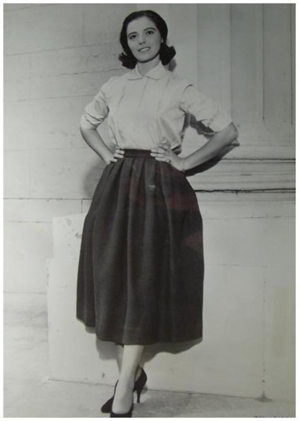 Marisa PAVAN '50 (soeur jumelle de Pier ANGELI) (19 Juin 1932)