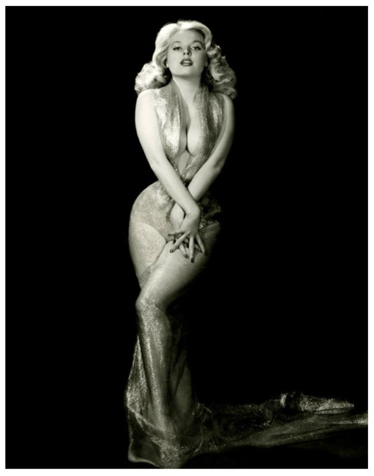 Betty BROSMER '50 (2 Août 1935), pin-up