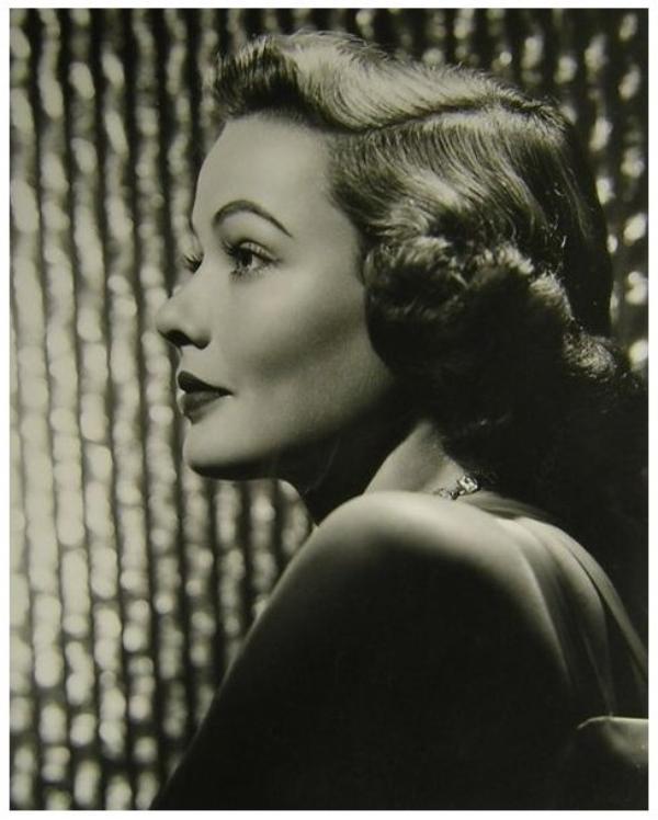 8 NOUVELLES photos de Gene TIERNEY '40-50