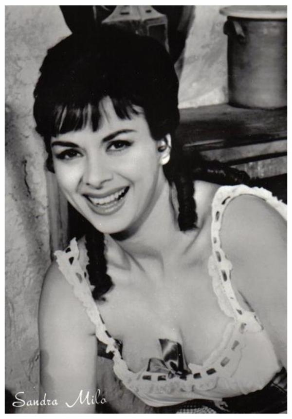 Sandra MILO '50-60 (11 Mars 1935)