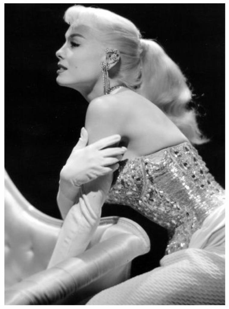 Lee SHARON '50 (née en 1932-33, aucune autre information) actress, model, pin-up