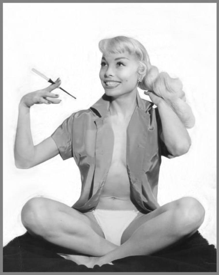 Lee SHARON '50 (née en 1932-33, aucune autre information) actress, model, pin-up