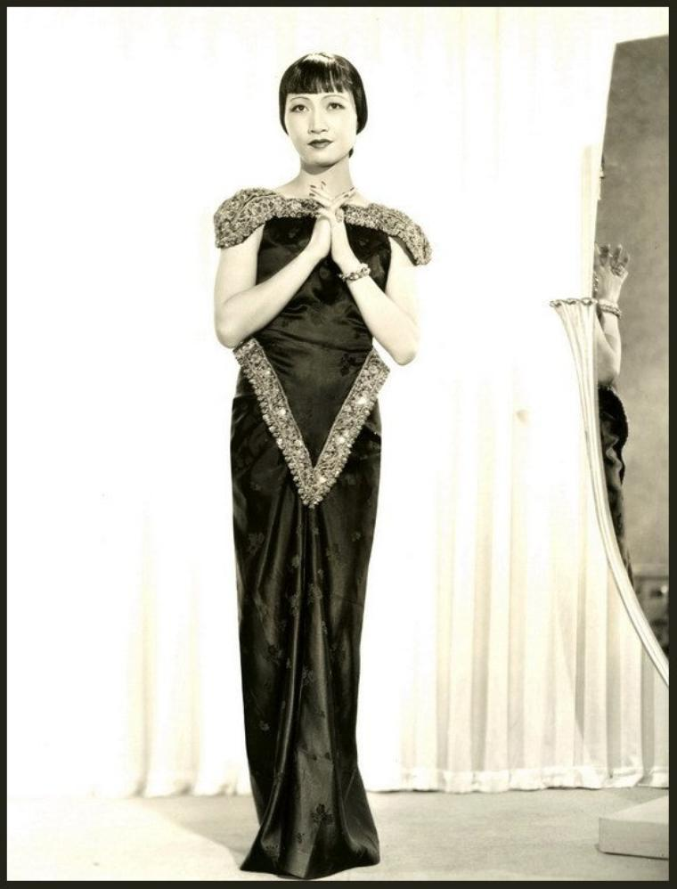 8 NOUVELLES photos d'Anna May WONG '20-30