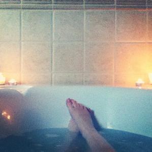 Rien de tel qu'un bon bain pour se relaxer