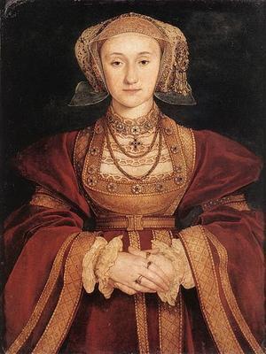 Tableau d'Anne de Clèves par Holbein