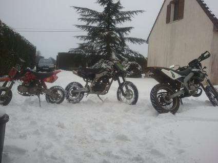 Mes békane dans la neige :)