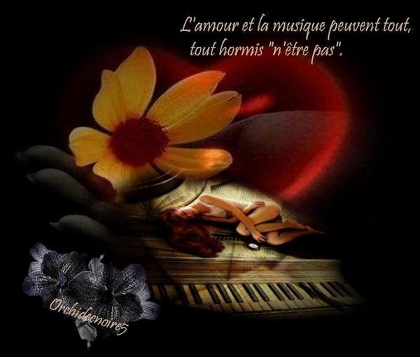 La musique, c'est du bruit qui pense.