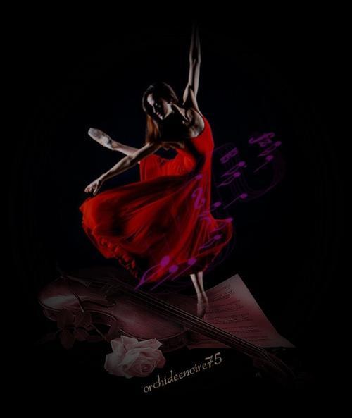 La danse est une poésie muette......