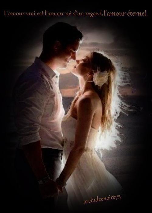 L'amour, c'est l'éternité d'une vie à deux. .....