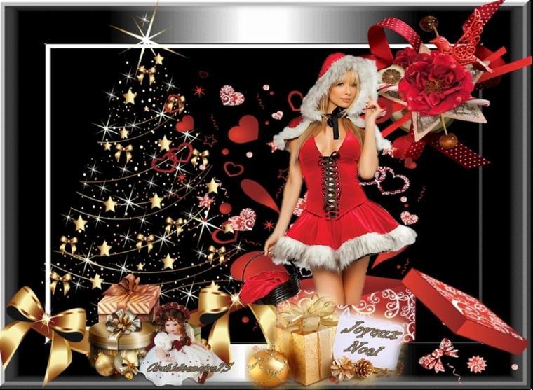 Bientôt Noël... Cette jolie période de l'année où l'on songe plus au passé ni au futur mais rien qu'aux présents!
