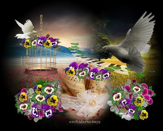 Les pensées sont comme les fleurs, celles qu'on cueille le matin se conservent le plus longtemps fraîches »