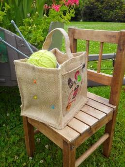 Votre panier pour couture - tricot - Crochet
