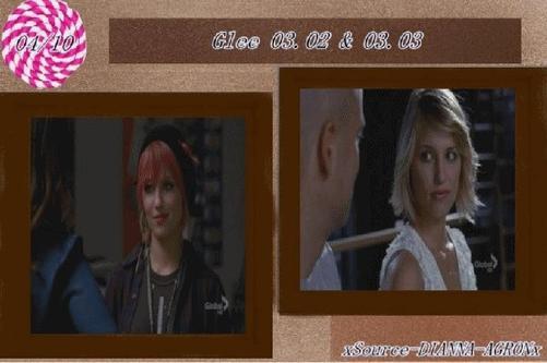 Glee  03.02 & 03.03