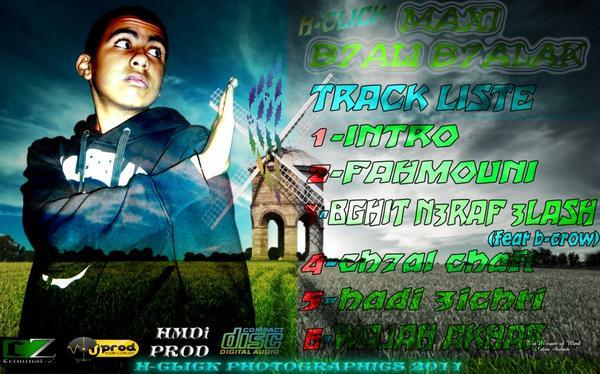 la liste de track maxi b7ali b7alak