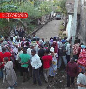 Partielle à Anjouan : Fouille corporelle à Mramani