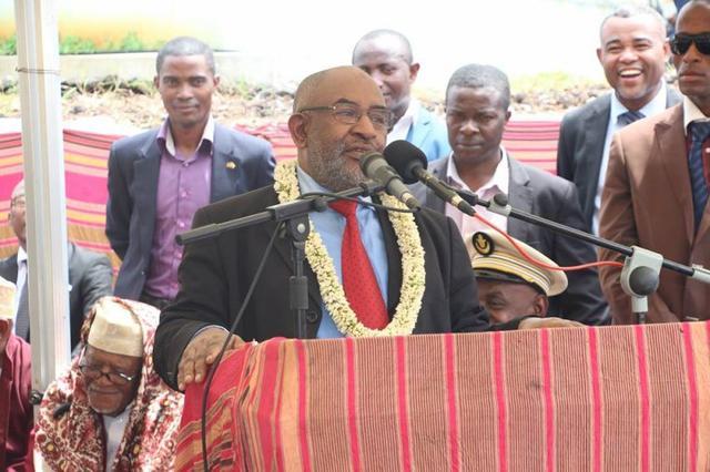 Allocution du Chef de l'Etat Comorien à l'occasion de l'inauguration de la centrale thermique de Voidjou à Ngazidja