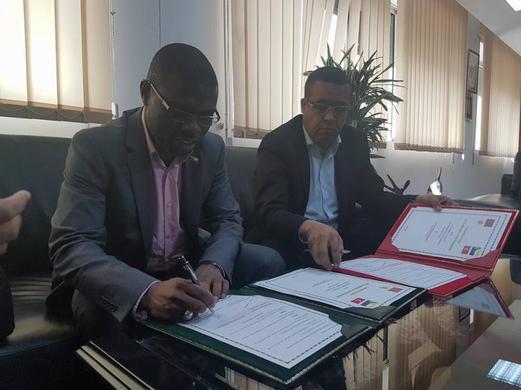Signature d'une convention spécifique et de trois protocoles d'accord
