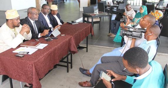 """Anissi Chamsidine à propos des Assises nationales : """"Faire en sorte que les Comoriens s'identifient à un État et non une île ou un village"""""""