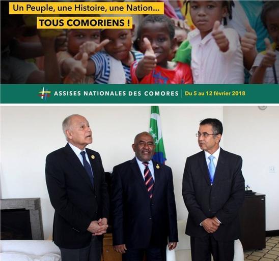 Assises nationales : Une nouvelle page s'ouvre pour l'histoire de la nation comorienne
