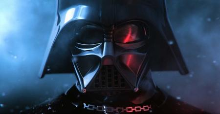 Mon Mothma face à Dark Vador