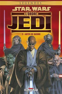 Revue de comics : L'Ordre Jedi T.1 à 4
