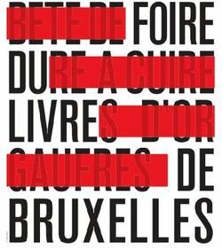 Evénement - Foire du livre Bruxelles [Déjeuner du Prix Première]