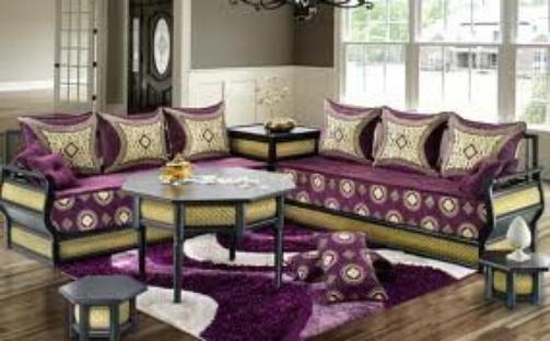 Salon oriental marocain moderne 7