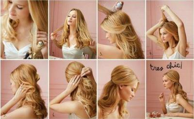 Coiffure n°4 : Coiffure chic !