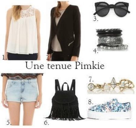Tenue Pimkie