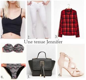 Une tenue Jennifer !