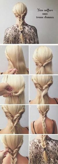 Coiffure n°10 : Tresse cheveux !