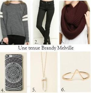 Une tenue Brandy Melville