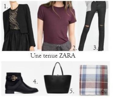 Une tenue ZARA