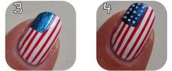 Nail art USA !