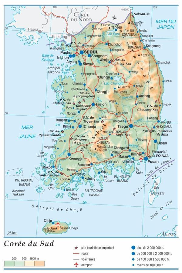 Corée 2015