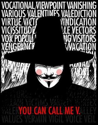 - V - pour Vendetta ♥