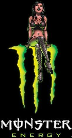 - Monster Energy Girl -